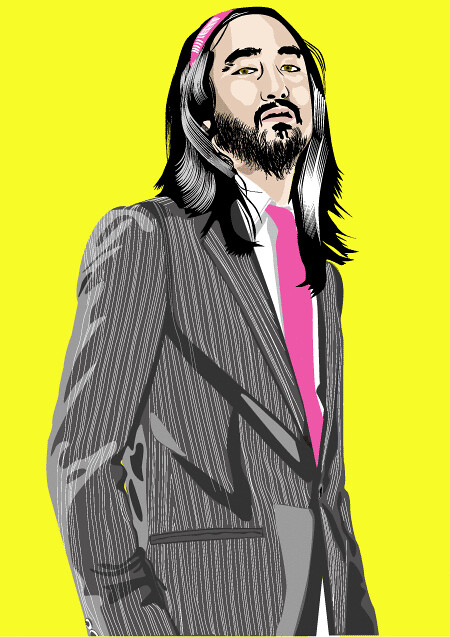 Steve-Aoki by GApe art