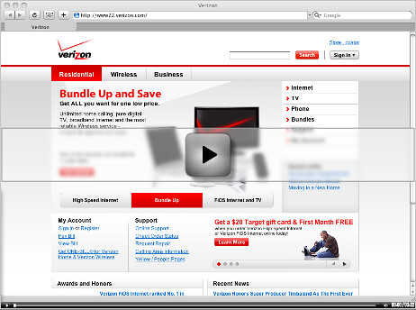 Verizon Screencast