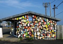 Shellfish Shop (garageowns) Tags: jones fishing provincetown telephone pole shellfish lobster cape gary cod buoys ptown floats garyjones buoyant garageowns