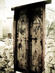 (| Rashid AlKuwari | Qatar) Tags: door old broken that lost see rocks closed alone sad heart arabic arabia depressed lonely why didnt arabian coming souq doha qatar wagif   qtr  i  alkuwari lkuwari