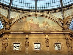 Milán: Galleria Vittorio Emanuele II