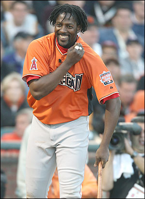 Vladimir Guerrero, the funniest looking slugger in the majors