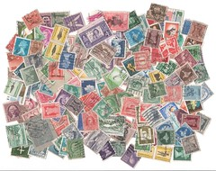 An old stamp  collection. (DigitalTribes) Tags: world us stamps scan stamp collection