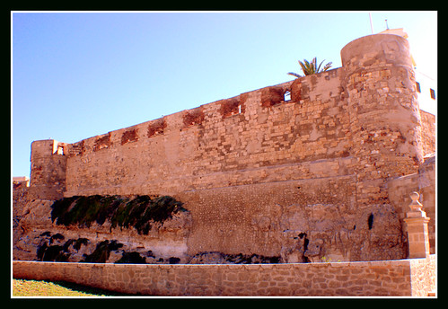 Frontal de la Muralla Real