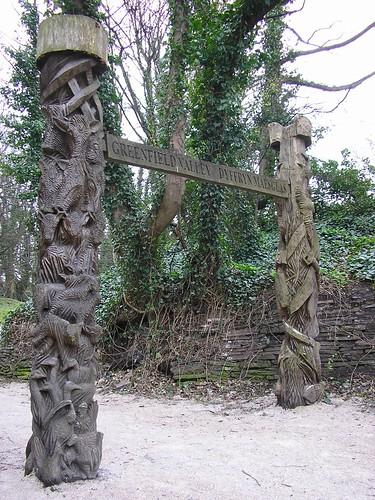Impressive carving
