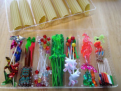 Sakurako Kitsa recycled manicotti trays 1