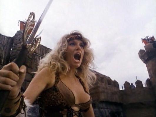 Lana Clarkson en 'Barbarian Queen'