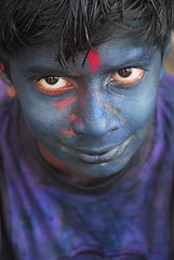 My favourite blue (sanjayausta) Tags: pictures street new blue school boy red portrait india game color colour green colors face festival children fun religious happy photography eyes asia paint colours child play with purple faces candid painted delhi indian traditional joy festivals culture teenagers teens games powder spray celebration laughter colourful smear tradition custom ethnic hindu festivities holi coloured occasion sanjay smeared austa