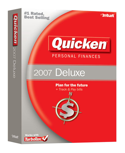 Quicken Deluxe 2007 by Quicken Online