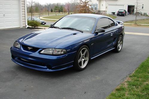96 Mustang GT Moonlight Blue