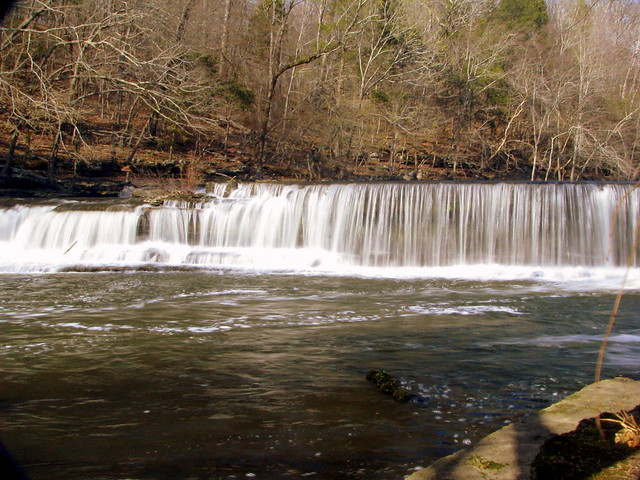 upper part of Big Falls - Old Stone Fork Park