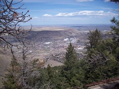 the view from lookout mountain
