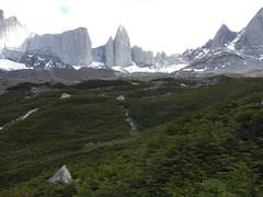 Torres del Paine - trek - glacier frances