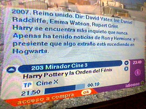 Película de Harry Potter