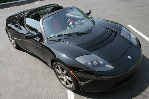 The Tesla Roadster First Test