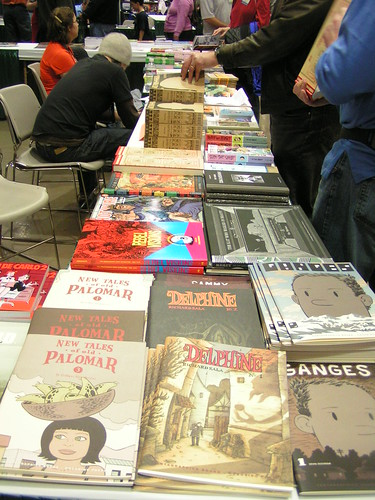 Fantagraphics at Emerald City Comicon, Seattle, 05/10/08