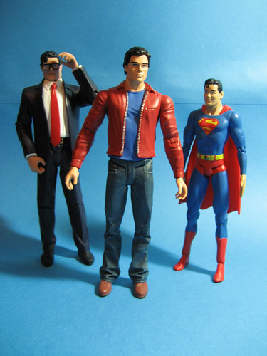 Clark Kents and Superboy