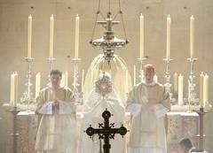 O Sacrament Most Holy (Lawrence OP) Tags: church dominican cross jesus altar oxford blackfriars procession crozier deacons eucharist monstrance corpuschrist ostensarium dalmatics