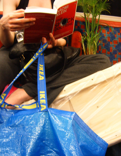 Ikea and The Shock Doctrine on the Tube