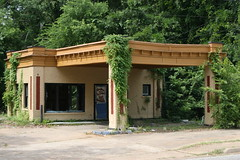 former gas station in marshall