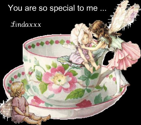 You are so special to me ...