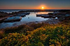 November sunset (luigig75) Tags: torre sibiliana sea mare tramonto sunset efs1022mmf3545usm canon hdr 70d sicilia sicily italia italy marsala petrosino landscape seascape