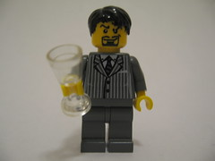 Lego Tony Stark (batboy2424) Tags: robert lego jr ironman tony stark downey minifigure