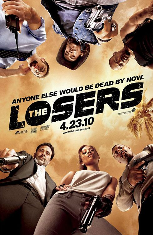 The Losers Official Movie Poster