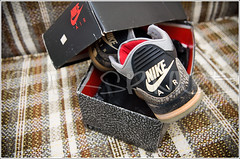 1988 Black Cement III's with original box. (dunksrnice) Tags: original black shoe with box air 1988 cement jr nike jordan collection sneaker rolo nikes iiis jordans tanedo dunksrnice wwwdunksrnicenet rolotanedo dunksrnicenet rolotanedojr