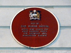 Photo of Red plaque number 734