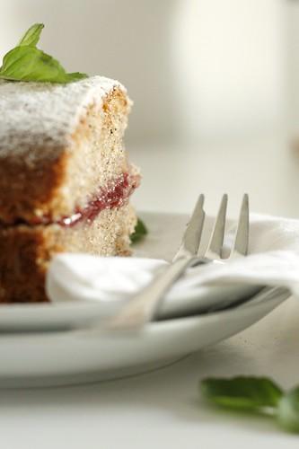 Schwarzplententorte: Torta di grano saraceno