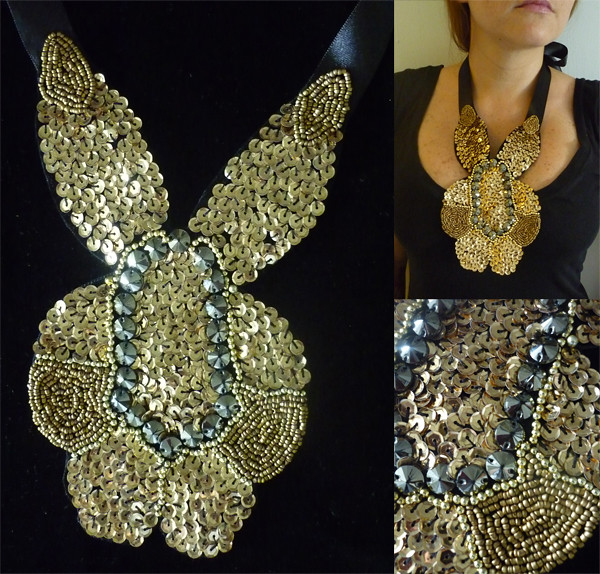 Bib Necklace: Liz