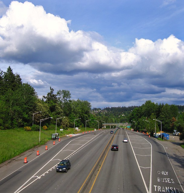 Eastbound State Route 520 - Medina WAq