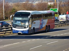 54104 - SP61 CWX (Cammies Transport Photography) Tags: bridge bus volvo coach edinburgh fife south forth elite toll stagecoach queensferry a90 in plaxton 54104 x59 sp61cwx