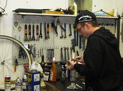 Cap - Sopo Bicycle Co-op (TimothyJ) Tags: atlanta shop cycling bikes tools bicycles cap repair coop sopo sopobicycle