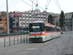 T2-Bagcilar tram line/Istanbul (tramways2007) Tags: turkey trolley tram istanbul turquie türkei streetcar tramway lrt turquia strassenbahn tramvay tranvia turchia трамвай turska turcia