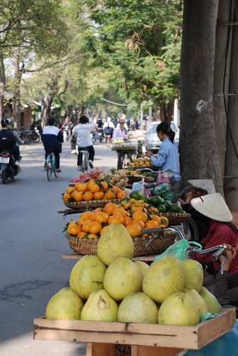 Fruits sellers