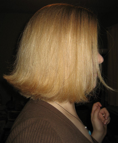 A new (old) hairstyle for fall. Flip the ends of your bob out (can be any