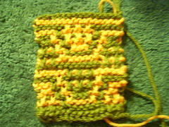 slip stitch sample
