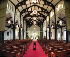 1847 St. Mary's Cathedral Basilica Sanctuary () Tags: galveston history church station saint st architecture island worship catholic texas cross cathedral roman daniel basilica tx mary religion gothic 1800s houston historic holy historical mass pew alter galvestonisland bishop 1840 sanctuary archbishop diocese archdiocese dinardo galvestonhouston top20texas