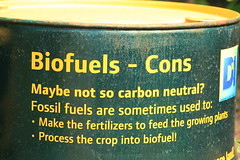 Biofuel message (tinshack) Tags: ecology print foot cornwall gas oil environment crops eden carbon eco biofuel carbonfootprint fertilizers carbonneutral fosilfuel conservationmessage environmentalmessages greenmessage