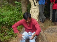 "Raja ""Architect"" Kharoshe (aanjhan) Tags: trekking bangalore rappelling rbin ramnagar chimneyclimbing"
