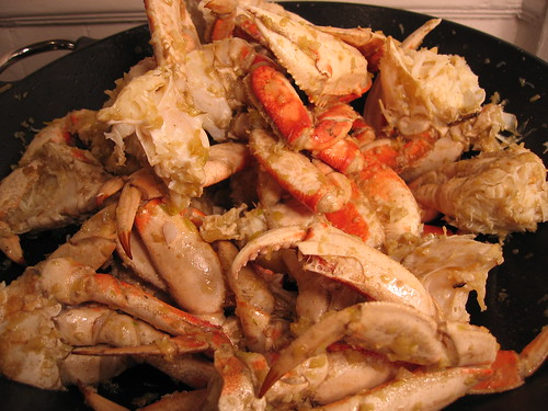 Stir-Fried Garlic Crab