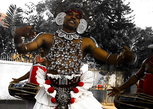 Kandian Dancer in Colombo