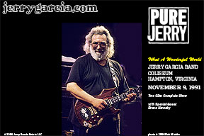 Jerry Garcia Band -- Pure Jerry 11/9/91 Hampton Coliseum