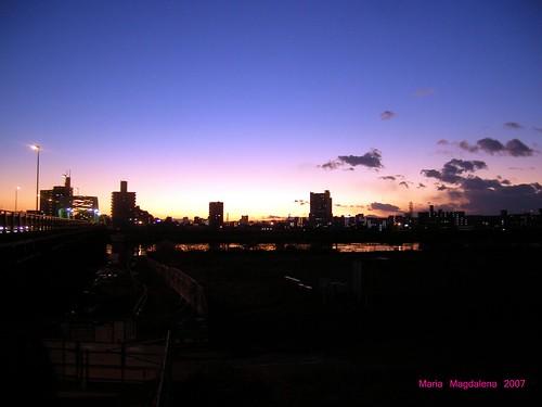 2007年の最後の日没