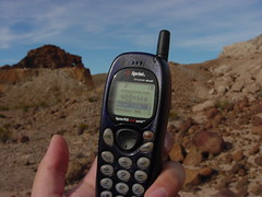 cheap cell phone, Big Bend NP, TX (Walker the Texas Ranger) Tags: big bend phone spring first cell sprint