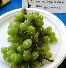 Grapes of Wrath by Emma McIntosh at Seattle Edible Book Festival