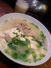鶏スープ@品川