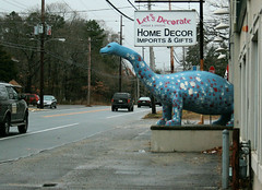 Dino (scottnj) Tags: usa america advertising newjersey dino dinosaur nj fair gas worlds roadside float oceancounty 1939worldsfair sinclair stations roadsidedinosaur berkeleytownship letsdecorate bayvillenj importsgifts scottnj bayvillelandmark